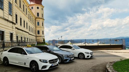 Fuhrpark Mercedes, Taxi Krems